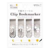 Bookmarker Clip - Cat & Moon