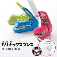 [고쿠요]클립과 철심이 필요없는 스테플러-하리낙스 프레스 HC413