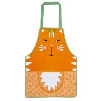 [울스터위버스] 어린이 방수 앞치마 - Ginger Cat