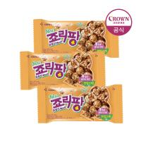 크라운 죠리퐁 죠리팡 뮤즐리 딸기마카롱 34g 3개