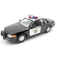 1/27 1999 FORD CROWN VICTORIA (WE120825PO) 캘리포니아 고속도로순찰차 모형