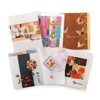 카드/축하카드/감사카드/연하장/미니카드 감사 전통미니카드 FT5043 (12종 한세트)