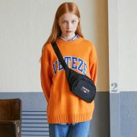 베테제 - Applique Knit (orange) 아플리케 니트