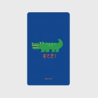 [어프어프] 보조배터리 Crocodile-blue