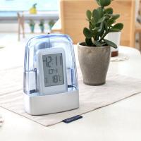 물로가는 디지털 고급 탁상시계 건전지NO 온도 시계