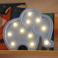 LED 앵두전구 조명등 (코끼리 블루)