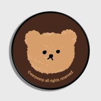 Dot big bear-brown(스마트톡)
