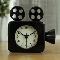 영사기 알람 탁상시계 (블랙) 탁상 시계 추카추카넷