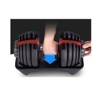 쿡헬스 스마트 아령 일체형으로 무게조절 헬스 근육