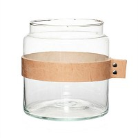 [Hubsch]Vase w leather ribbon 화병379005