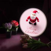 nd547-LED액자25R_귀여운산타와크리스마스를_LED사인