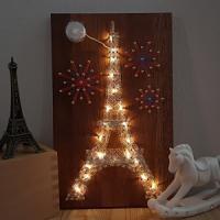 에펠탑 스트링아트(우드/LED)