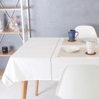 고밀도 빅체크 면식탁보 - 2color