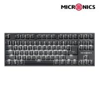 MANIC 텐키리스 기계식 키보드 MANIC K520 카일박스 스위치 (백축)