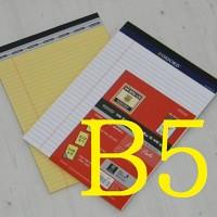 적당한 크기로 판매자가 애용하는-옥스포드 B5 리갈패드 5권 A754-2s