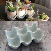 [콩지] 계란판 화분 - 6구