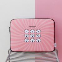적극적인곰 노트북파우치 Baby pink