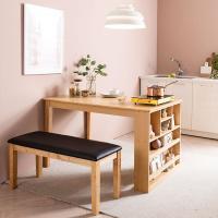 [채우리] 그라티아 4인 수납 식탁 테이블+벤치1