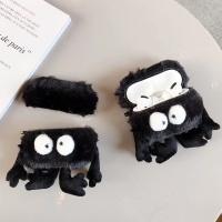 에어팟프로 3세대 먼지 인형 젤리케이스_블랙 379/PRO