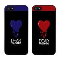 KAKYUNG DEAR VALENTINE(2COLOR) 아이폰5S BLACK CASE