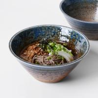 일본식기 텐텐 삼각 면기