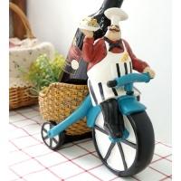[2HOT] 이태리 셰프 자전거 와인꽂이 1구