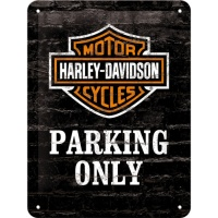 노스텔직아트[26117] Harley-Davidson Parking Only