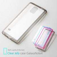 마주로 갤럭시노트4 초슬림 클리어 젤리케이스 MAJURO Clear Jelly Case GalaxyNote4