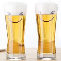 메트로폴리탄 스마일 맥주잔 400ml 2p(선물용)