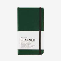 2017 Simple Planner (M) PEACOCK GREEN (다이어리/플래너/스케줄러)