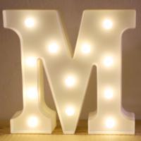 LED 앵두전구 조명등 알파벳 M