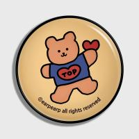 Bear heart-Creamyellow(earptoktok)