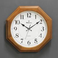 (kyos035)WD400월넛팔각이중벽시계 저소음(지름 40cm)