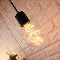 LED 무명 펜던트등(블랙)