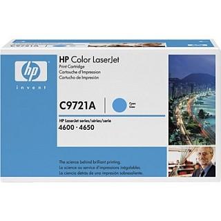 HP 정품 토너 C9721A  파랑색 NO 641A