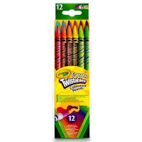 GY687508 지워지는트위스트 색연필 12색