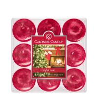 COLONIAL CANDLE 1961 티라이트 9pk 캔들 즐거운 크리스마스