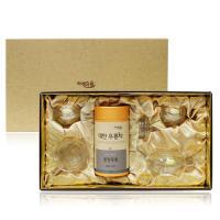 [차예마을]동정우롱 유리다기 선물세트