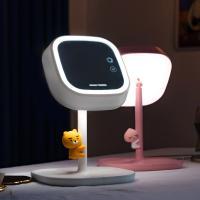 카카오프렌즈 스마트 고속 무선충전 LED 미러 스탠드