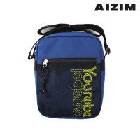 AIZIM 데일리 크로스백 운동 패션 가방 ASM008MNB