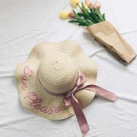 원픽 바캉스 와이어햇 여성 밀짚모자 여름모자