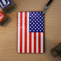 Vintage card case (The Stars and Stripes)