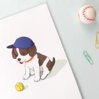 2018 강아지 벽걸이 캘린더
