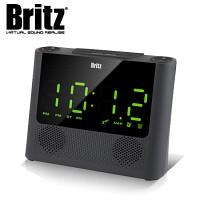 브리츠 블루투스 스피커 & 라디오 & 시계 BA-R100 SOUNDCLOCK (알람 기능 / AUX 외부입력 단자 / 스마트기기 충전 기능)
