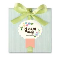 [인디고샵] 스프링 감사의마음 상장 라벨 (10개))