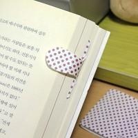 [플라스틱 and 자석 자동책갈피수지인] 레드닷