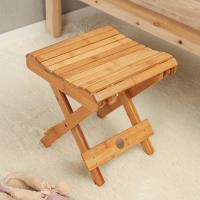 미니멀 대나무 내추럴 우드 의자 1P
