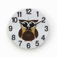 (kdrz170)저소음 브라운부엉이시계(300)