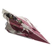 (스타워즈 프라모델) Star Wars - Ahsoka Tano's Jedi Starfighter (Clone Wars) (RA6674) (도색되어 있음)