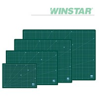 윈스타 녹색 데스크 고무매트 A4 300X215 [00032758]